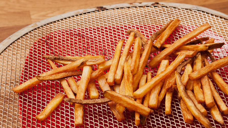 French Fries At Room Temperature