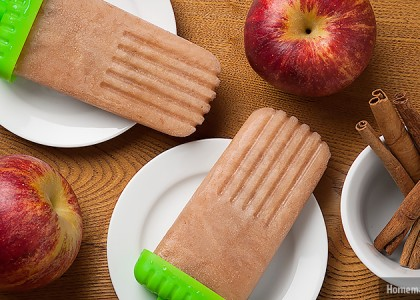 Cinnamon Apple Butter Popsicle Recipe